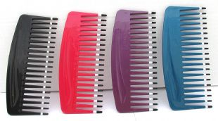 Wide Toothed Detanger Comb - ideal for thick and curly hair